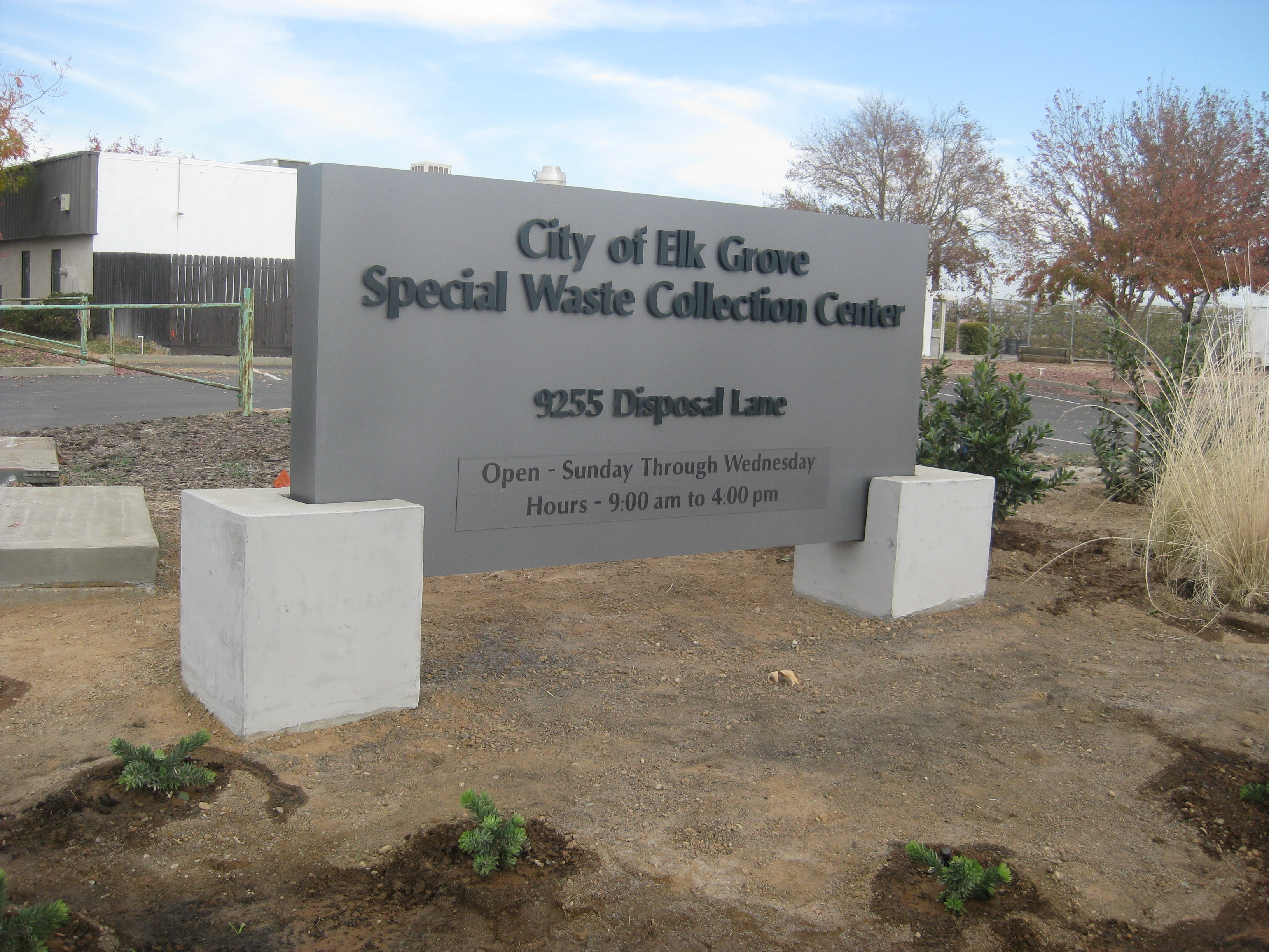 Elk Grove Special Waste Collections Facility